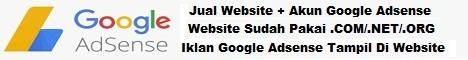 jual jasa pembuatan akun blog google adsense